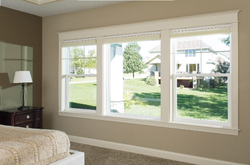 pella single hung picture windows