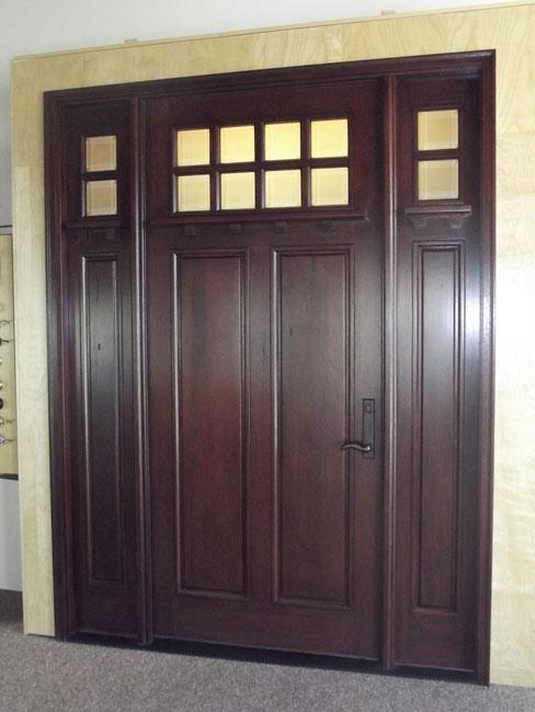 Pella Wood Front Entry Door Master Craftsmen Inc
